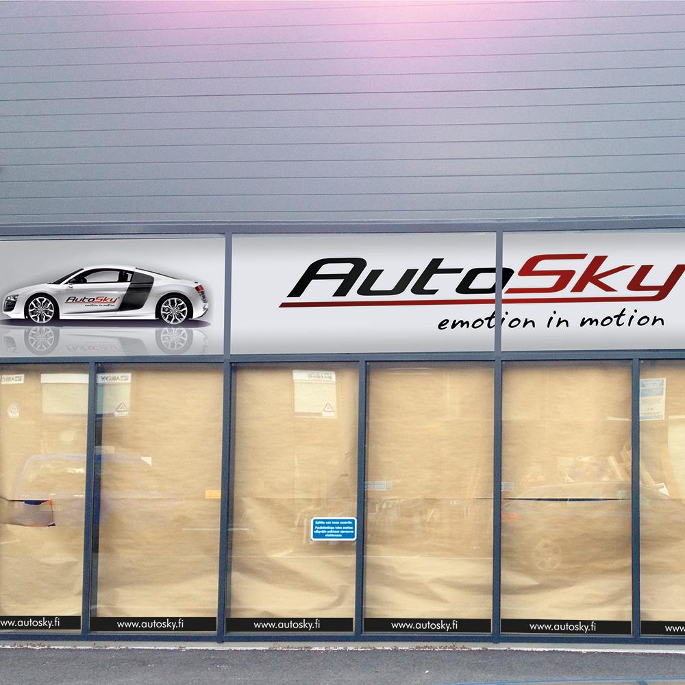 AutoSky_aknad